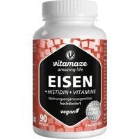 EISEN 20 mg+Histidin+Vitamine C/B9/B12 Kapseln