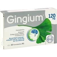 GINGIUM 120 mg Filmtabletten
