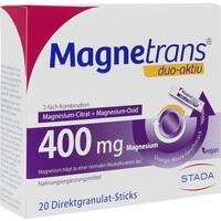 MAGNETRANS duo-aktiv 400 mg Sticks