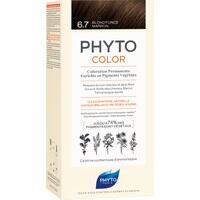 PHYTOCOLOR 6.7 dunkelblond Schokolade o.Ammoniak