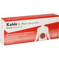KOHLE Dr.Mann 250 mg Tabletten