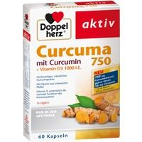 DOPPELHERZ Curcuma 750 Kapseln