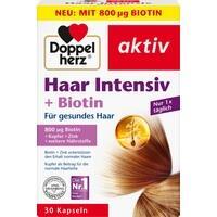 DOPPELHERZ Haar Intensiv+Biotin Kapseln