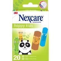NEXCARE Happy Kids Pflasterstrips Tiere 2 Größen