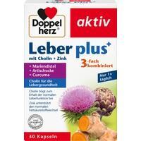 DOPPELHERZ Leber plus mit Cholin+Zink Kapseln