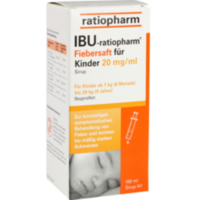 IBU-RATIOPHARM Fiebersaft für Kinder 20 mg/ml