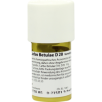 CARBO BETULAE D 20 Trituration
