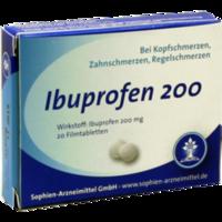 IBUPROFEN Sophien 200 Filmtabletten