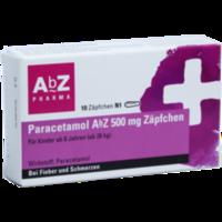 PARACETAMOL AbZ 500 mg Zäpfchen