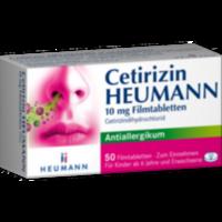 CETIRIZIN Heumann 10 mg Filmtabletten
