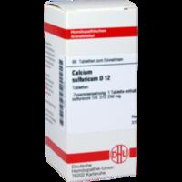 CALCIUM SULFURICUM D 12 Tabletten