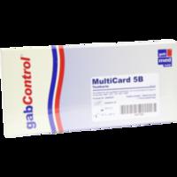 DROGENTEST Multi Param 5B Testkarte
