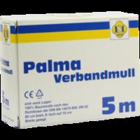 PALMA Verbandmull 80 cm 5 m zickzack Lagen