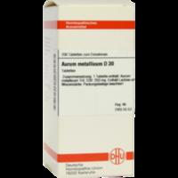 AURUM METALLICUM D 30 Tabletten