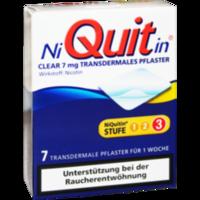 NIQUITIN Clear 7 mg transdermale Pflaster