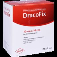 DRACOFIX PEEL Kompressen 10x10 cm steril 8fach