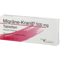 MIGRÄNE KRANIT 500 mg Tabletten