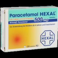 PARACETAMOL 500 mg HEXAL b.Fieber u.Schmerzen Tab.