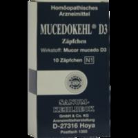 MUCEDOKEHL D 3 Suppositorien