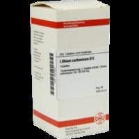 LITHIUM CARBONICUM D 6 Tabletten