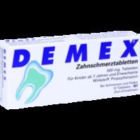 DEMEX Zahnschmerztabletten
