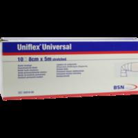 UNIFLEX Universal Binden 8 cmx5 m Zellglas weiß