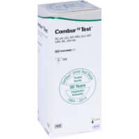 COMBUR 10 Test Teststreifen