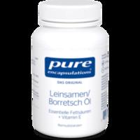 PURE ENCAPSULATIONS Leinsamen/Borretsch Öl Kapseln
