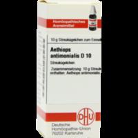 AETHIOPS ANTIMONIALIS D 10 Globuli