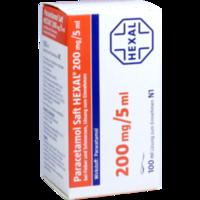 PARACETAMOL Saft HEXAL 200 mg/5 ml b.Fieb.u.Schme.