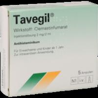 TAVEGIL Injektionslösung 2 mg/2 ml Ampullen