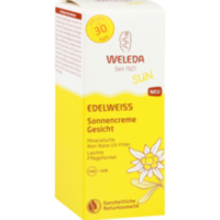 WELEDA Edelweiss Sonnencreme Gesicht LSF 30