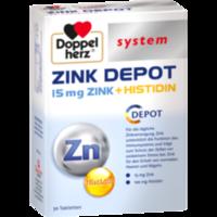 DOPPELHERZ Zink Depot system Tabletten