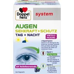 Abbildung von Doppelherz Augen Sehkraft + Schutz System  Kapseln