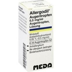 Abbildung von Allergodil Augentropfen
