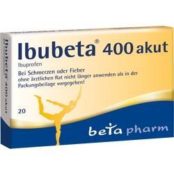 Abbildung von Ibubeta 400 Akut  Filmtabletten