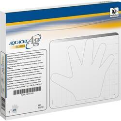 Abbildung von Aquacel Ag Burn Größe 1 Steril  Handschuhe