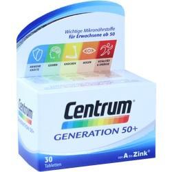 Abbildung von Centrum Generation 50+ A-zink + Floraglo Lutein  Tabletten