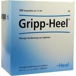 Abbildung von Grippheel  Ampullen