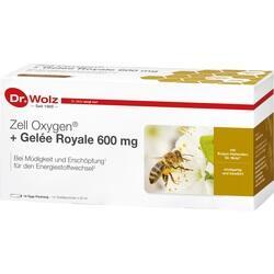 Abbildung von Zell Oxygen+gelee Royale 600mg  Trinkampullen