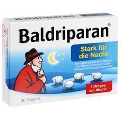 Abbildung von Baldriparan Stark Für Die Nacht  Tabletten
