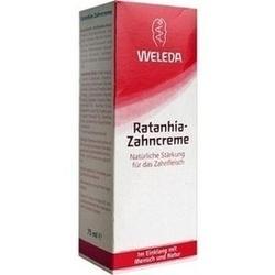 Abbildung von Weleda Ratanhia-zahncreme  Zahnpasta