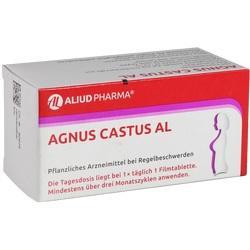 Abbildung von Agnus Castus Al  Filmtabletten