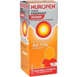 Abbildung von Nurofen Junior Fiebersaft Erdbeer 2%  Sue