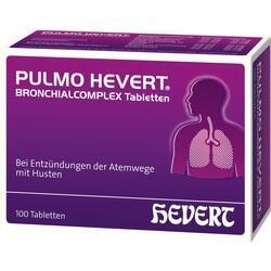 Abbildung von Pulmo Hevert Bronchialcomplex Tabletten