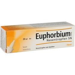 Abbildung von Euphorbium Comp. Nasentropfen Sn  Nasendosierspray