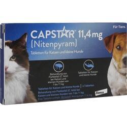 Abbildung von Capstar 11.4mg Für Katzen Und Kleine Hunde  Tabletten