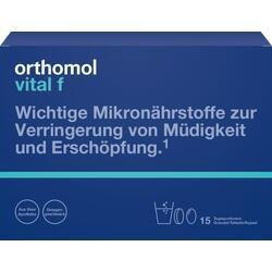 Abbildung von Orthomol Vital F Granulat Kapseln 15beutel  Kombipackung