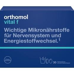 Abbildung von Orthomol Vital F Granulat Kapseln 30beutel  Kombipackung