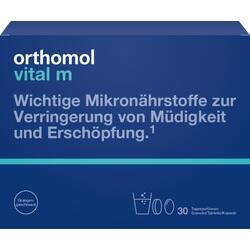 Abbildung von Orthomol Vital M 30granulat Kapseln  Kombipackung